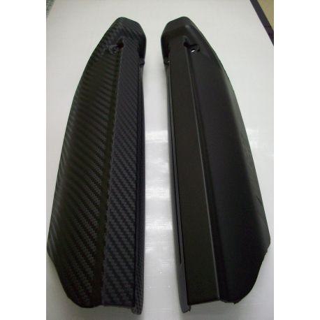 60x152 cm. Vinilo Carbono Negro